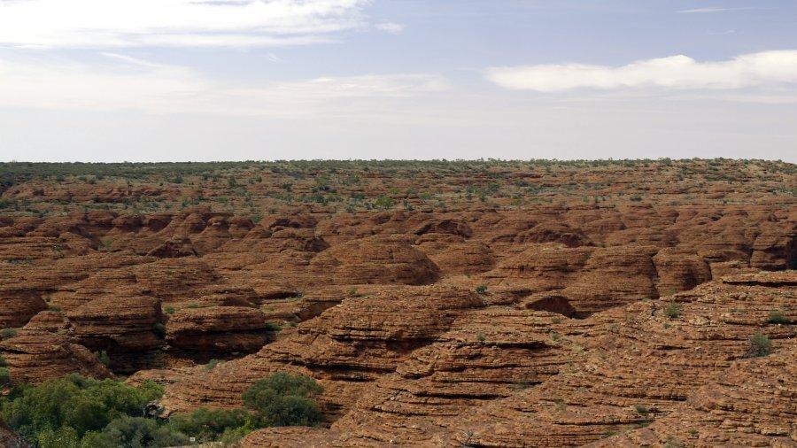 澳洲烏魯魯-國王峽谷Kings Canyon之Kings Canyon Rim-失落的城市