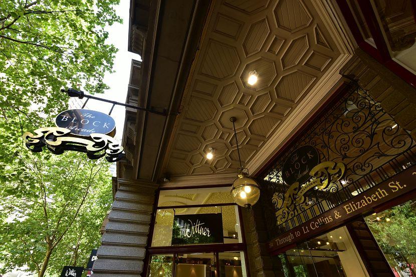 墨爾本-Collins Street-The Block Arcade