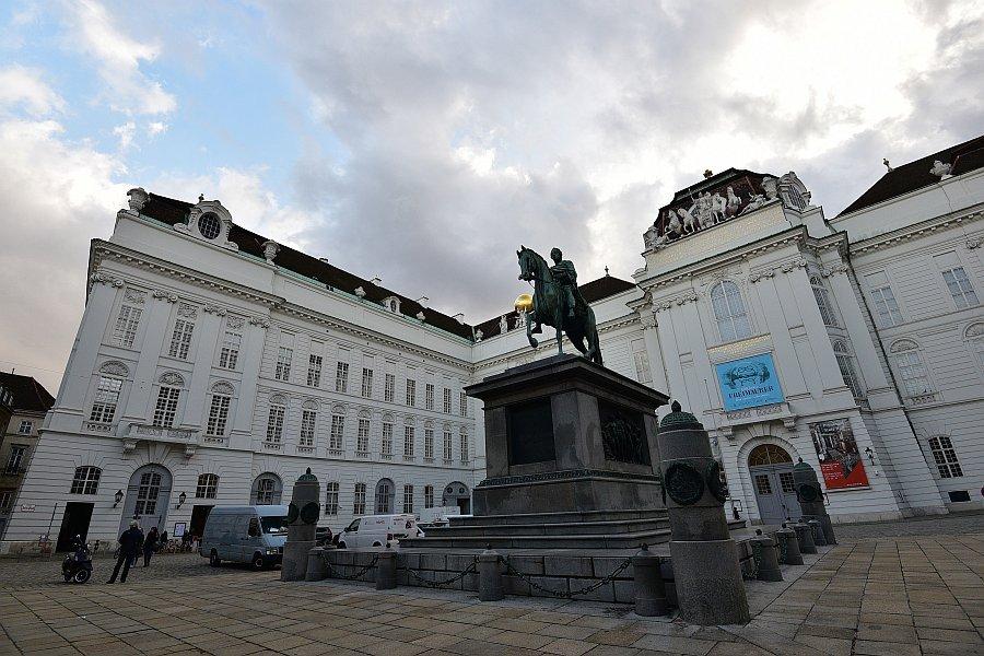 奧地利-維也納-奧地利皇家圖書館