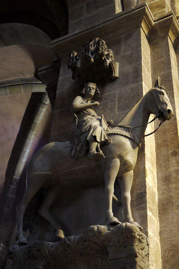 德國-班堡-班堡大教堂班堡騎士Bamberger Reiters