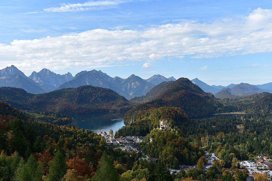 德國-羅曼蒂克大道-高天鵝堡Schloss Hohenschwangau & Alpsee