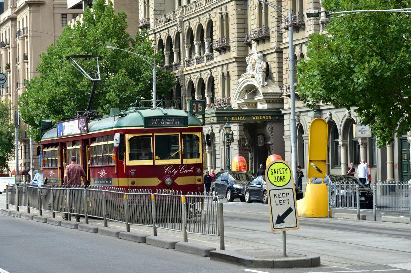 墨爾本-Tram35-City Circle