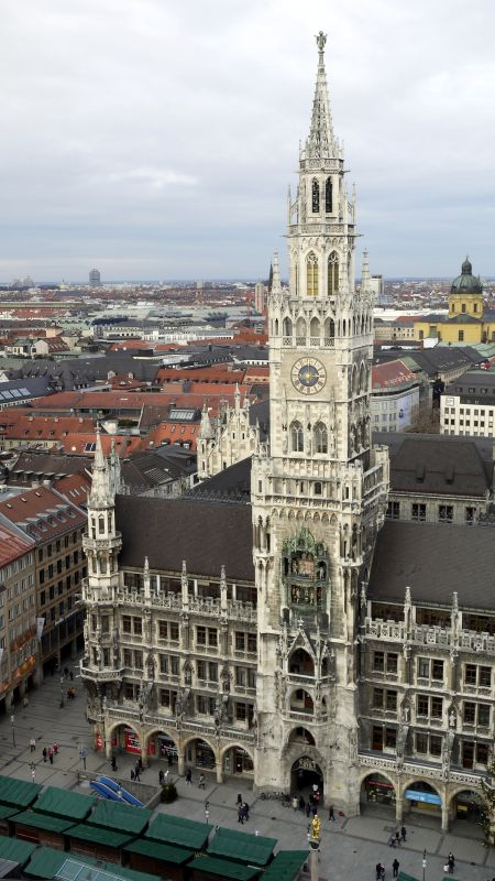 慕尼黑-瑪麗連廣場-新市政廳