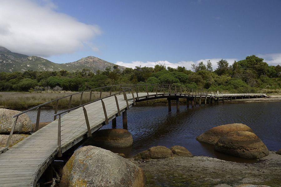 墨爾本 - Wilsons Promontory威爾遜岬 -Tidal River Foot Bridge